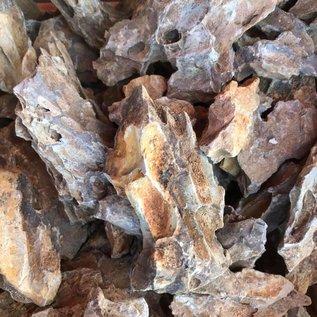 Onlineaquarium spullen Dragon stone fragments 1 kilo