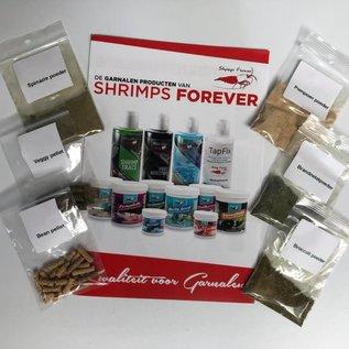 Shrimps forever Shrimps Forever probeerpakket natural
