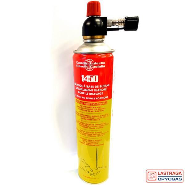Gashouder 1450 - 600 ml - met of zonder brander