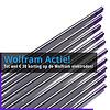 **ACTIE** Lila Wolfram elektroden