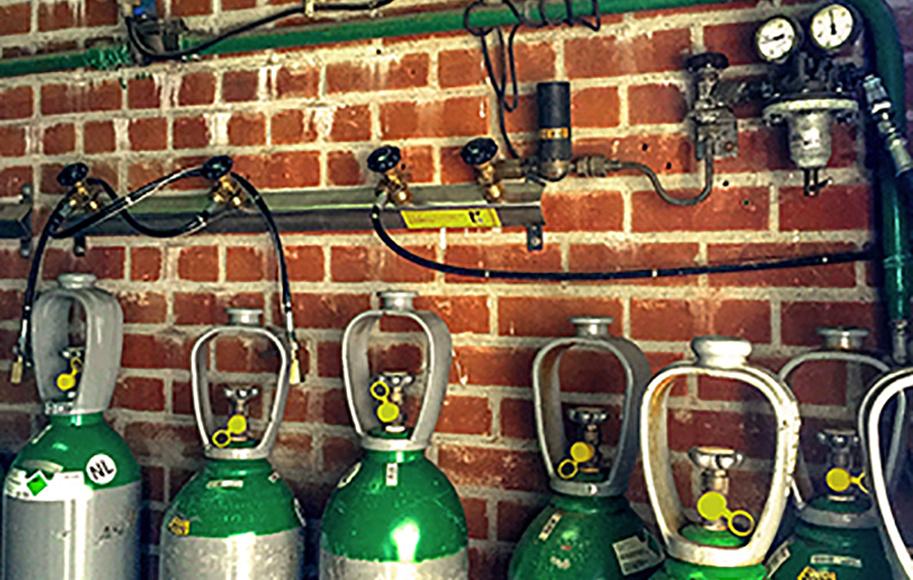 Aansluitingen gascilinders