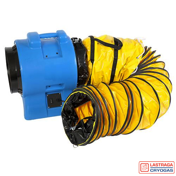 Ventilator - Zuigblaas-unit VAF-300 Blue - Mobiele afzuiging