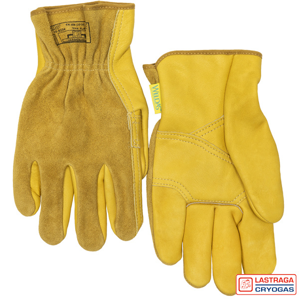 Chauffeur handschoenen - Split rundleder