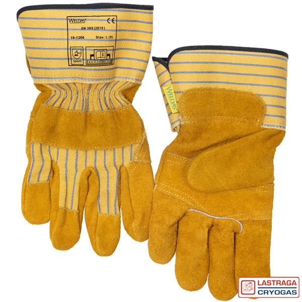 Werkhandschoenen - Splitleder