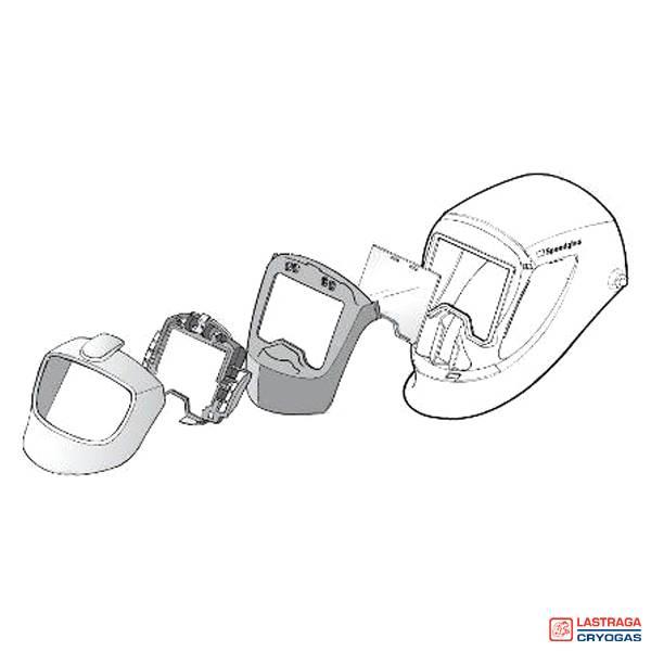 Speedglas 9002 - Ombouwkit - FlexView