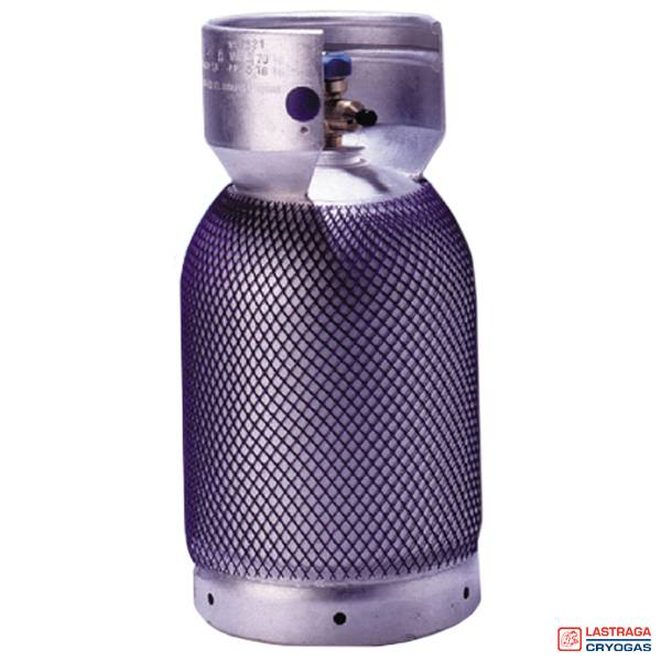 Koude gassen aluminium cilinders