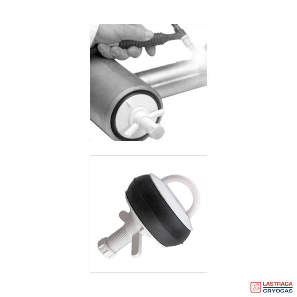 Nylon stoppers - Met en zonder doorlaat
