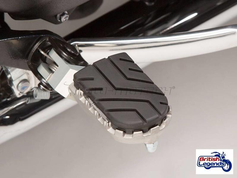 SW-Motech Adjustable Foot Rests for Triumph Bonneville