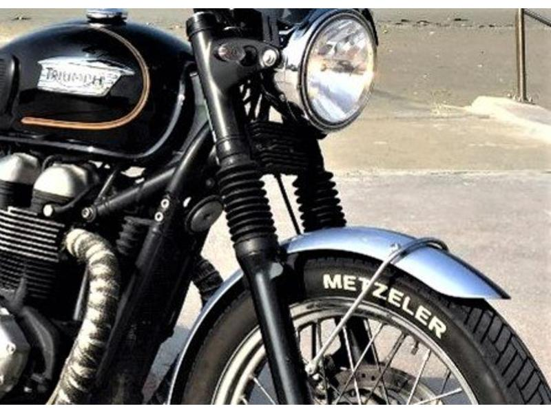 Fork Rubber Gaiters for Triumph Twins