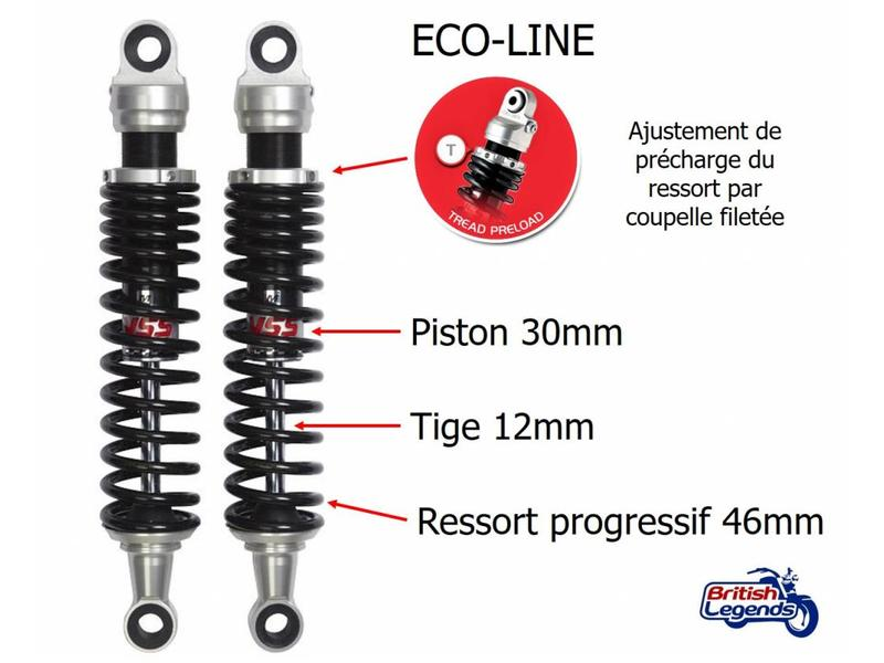 YSS YSS Shock Absorbers for Triumph Bonneville