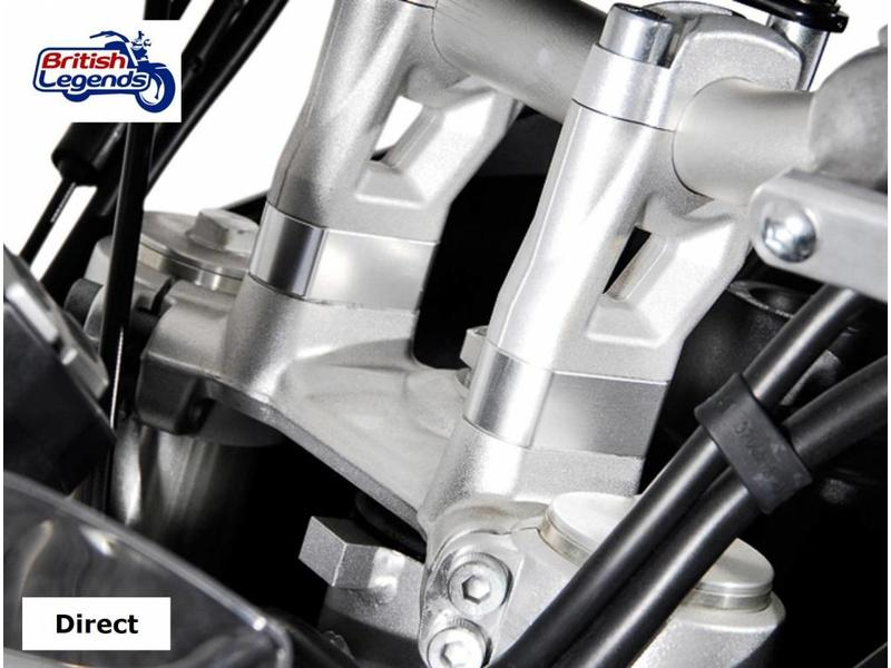 SW-Motech Handlebar Clamp Risers for Triumph Tiger