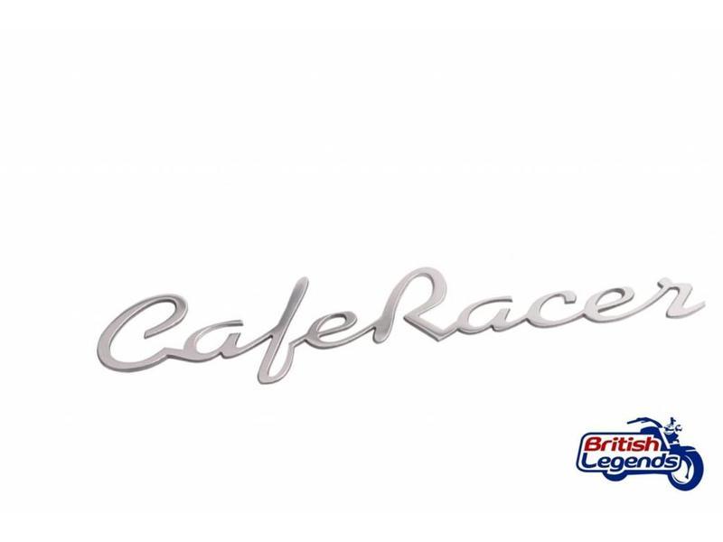 """Motone """"Cafe-Racer"""" Emblems in Solid Aluminium"""