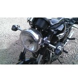 Smoked / Clear Triumph Turn Signal Covers (pair)