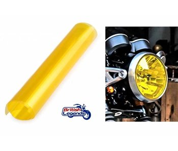 Yellow Headlight Film