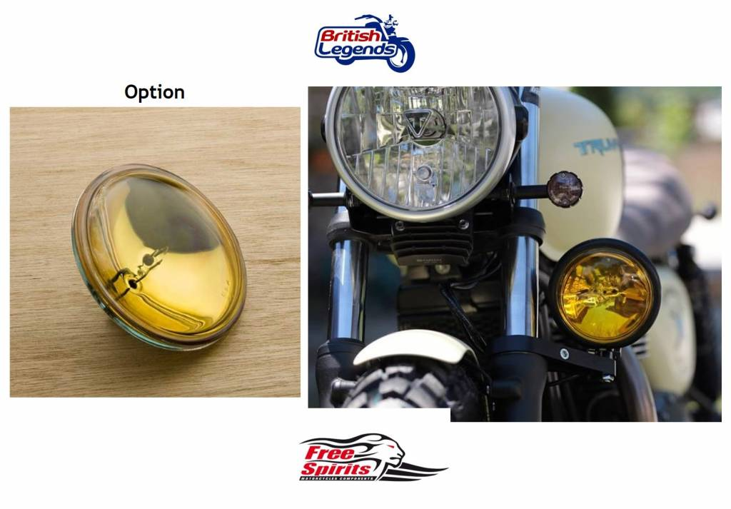 Side Light In Complete Kit For Triumph Twins British Legends