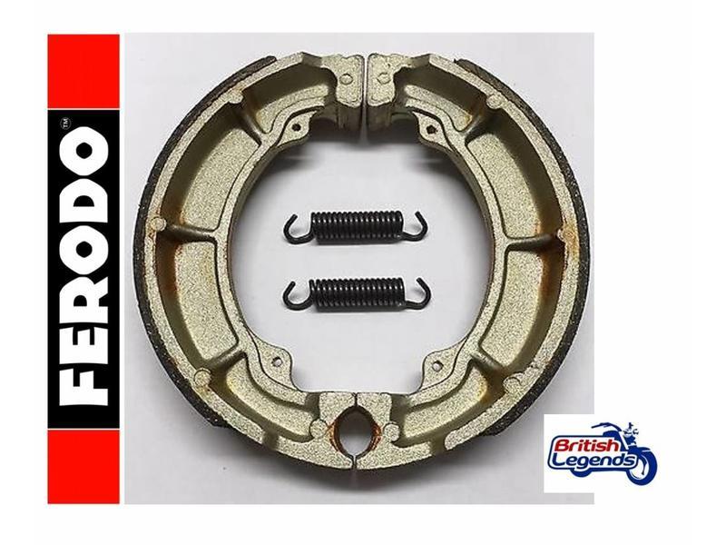 Ferodo Rear Brake Shoes for Kawasaki W650/W800