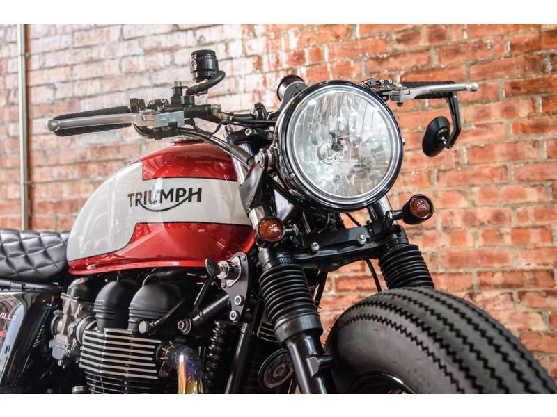 Motone Support de Clignotants AV pour Triumph Twins