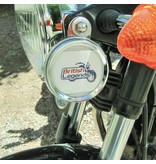Old-style license holder