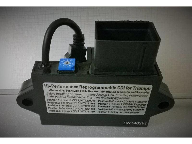 ElectroSport Programable CDI Unit for Triumph Twins