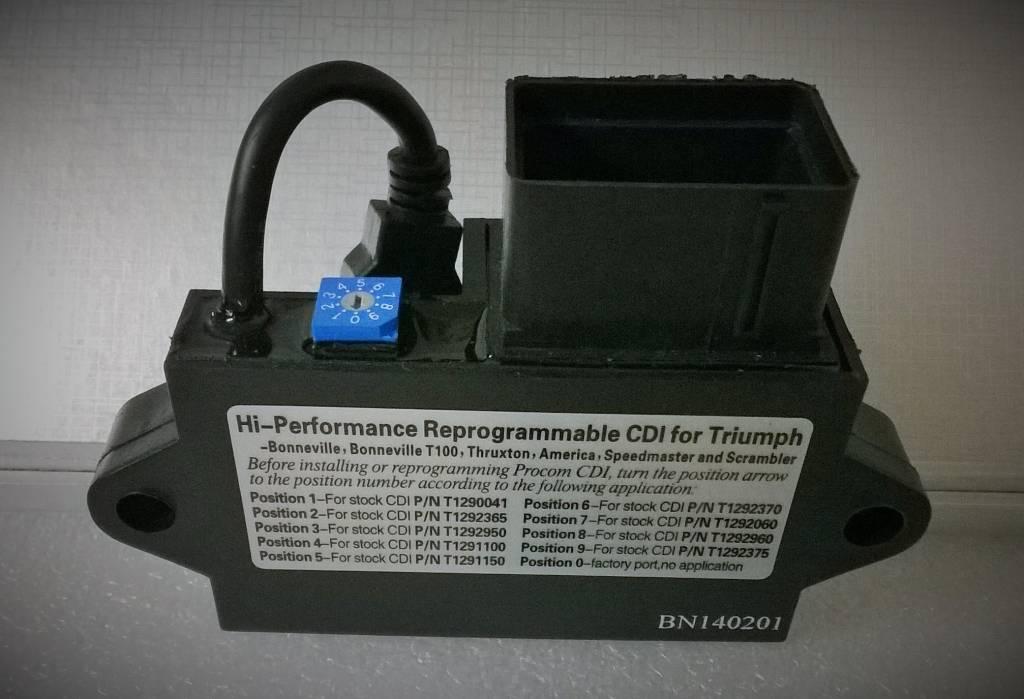 Procom CDI Ignition Box for Triumph Bonneville & Thruxton