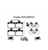 """EBC EBC Sintered Pads """"HH"""" for Triumph Trophy 1215"""