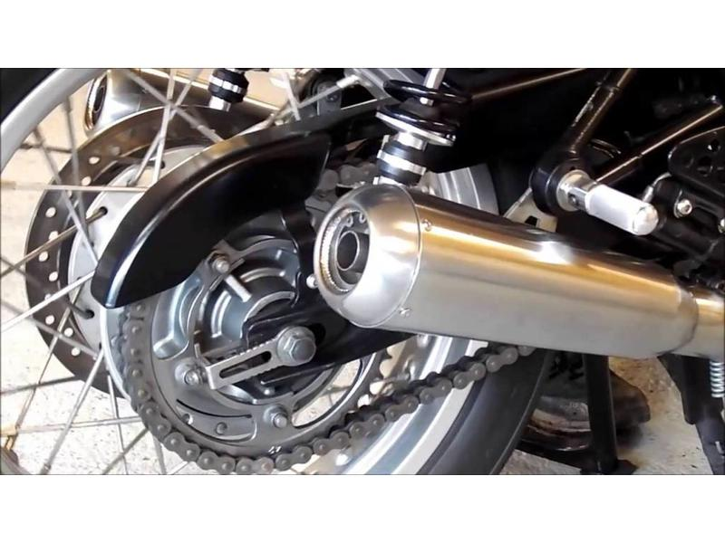 Complete 2-into-2 Exhaust System (stainless steel)