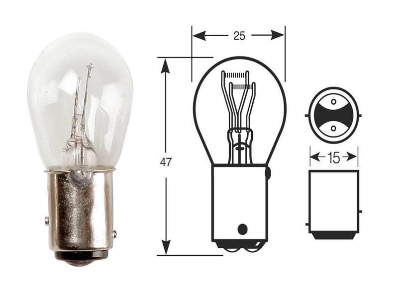 Ampoule Osram pour Feu Arrière et Stop 21/5W