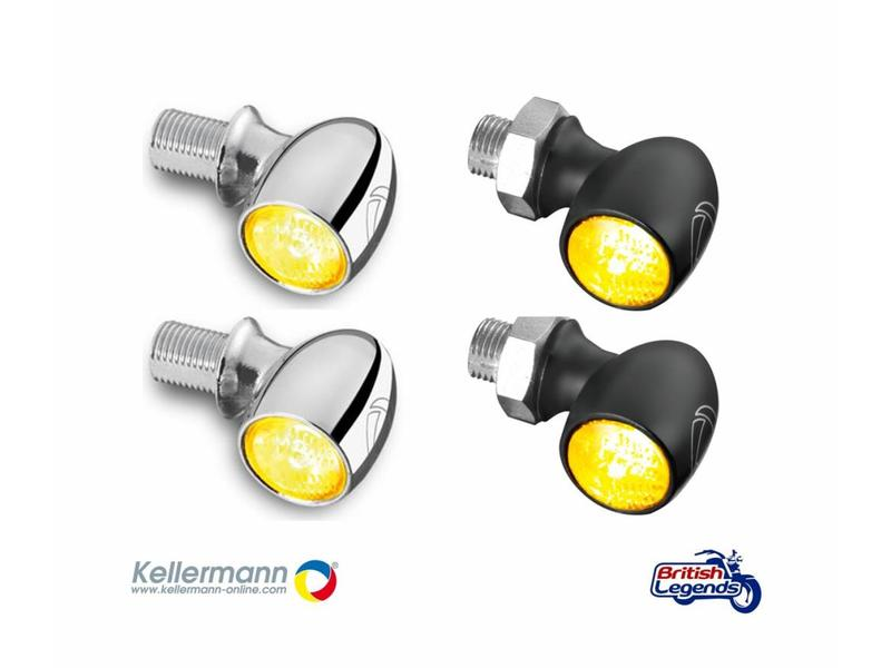 "Kellermann ""Bullet Atto"" indicators (pair)"