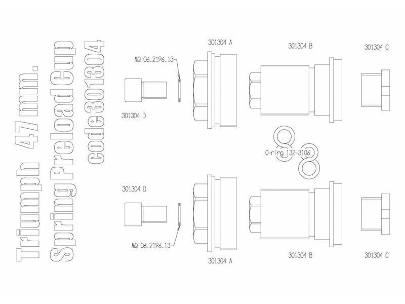 Free Spirits Fork Preload Adjuster Kit (Free Spirits)