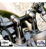 "Motone ""Up & Over"" Handlebar Risers for Triumph bikes"