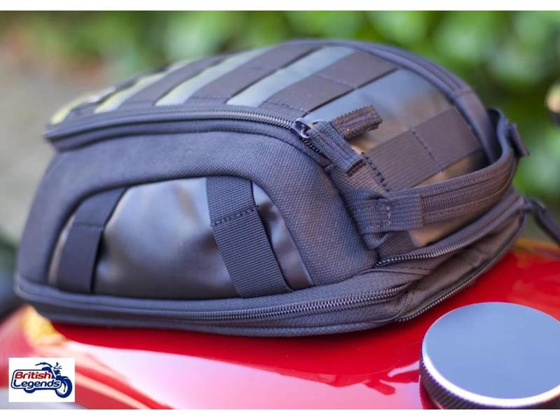 Canvas Tank Bag with Magnetic Fitting