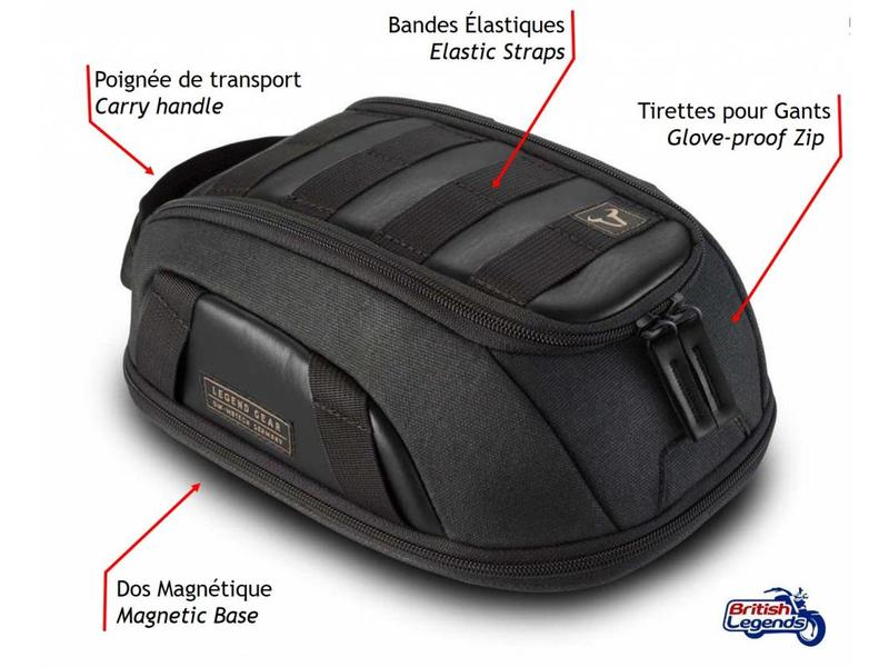 SW-Motech Motorcycle Tank Bag with Magnetic Fitting