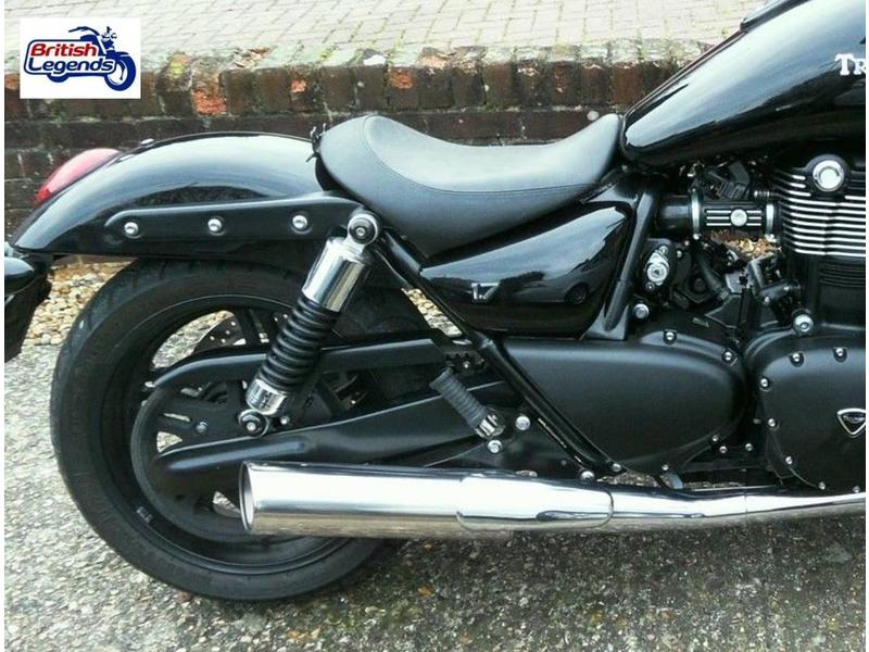 Stainless Silencers for Triumph Thunderbird