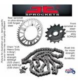 JT Sprockets Kit Chaîne pour Triumph  Twins 1200cc