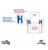 All Balls Kit de Joints Spi + Poussière pour motos Triumph