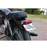 Lucas Tail-Light with Bracket, Direct Fit on Triumph Twins