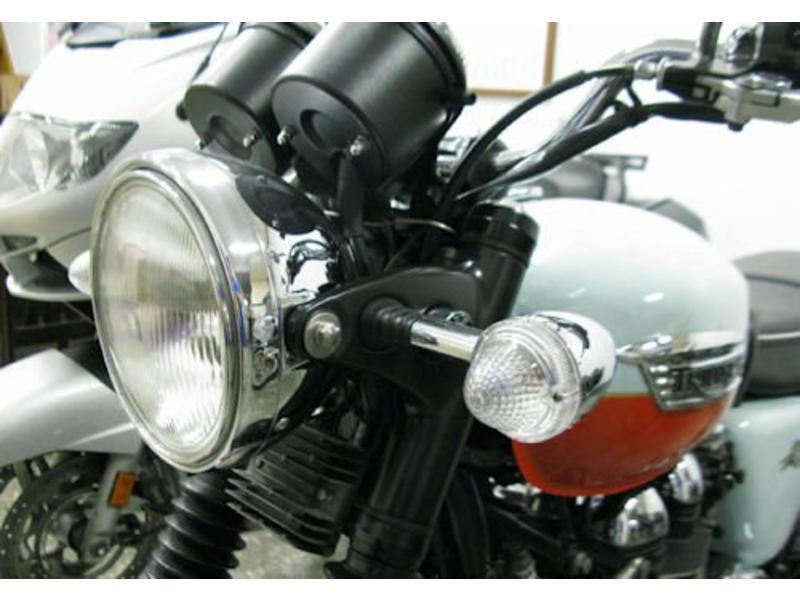 Smoked / Clear Triumph Turn Signal Lenses (pair)