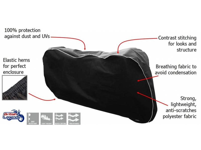 Motorcycle dust cover for Kawasaki W650/W800