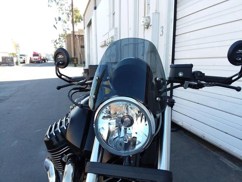 DART Flyscreen for Moto Guzzi Audace