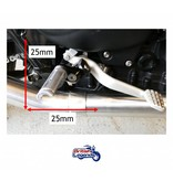 Solid Alloy Adjustable Footrests for Triumph Twins