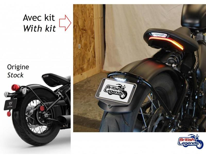 Tail Tidy in Complete Kit for Triumph Bobber
