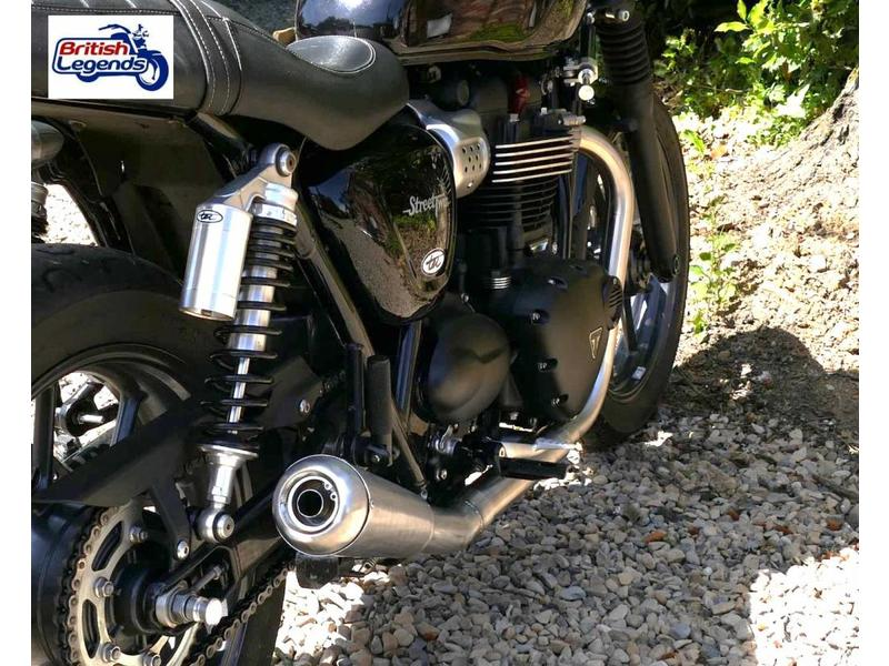 Stainless Steel 2-into-1 Exhaust System
