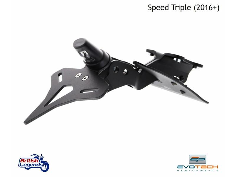 """EvoTech Kit """"Arrière Court"""" pour Speed Triple"""