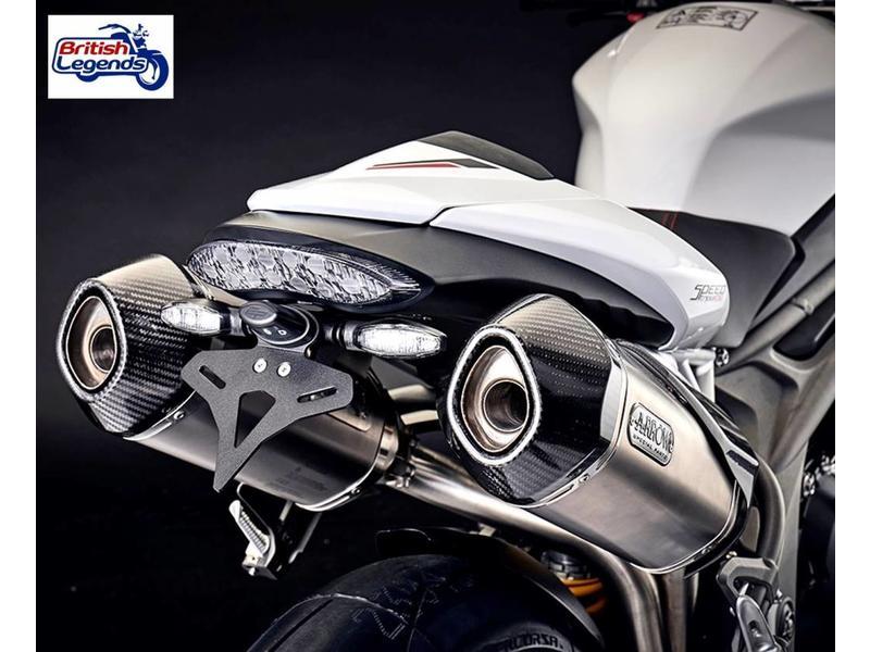 """EvoTech Kit """"Arrière Court"""" pour Triumph Speed Triple"""