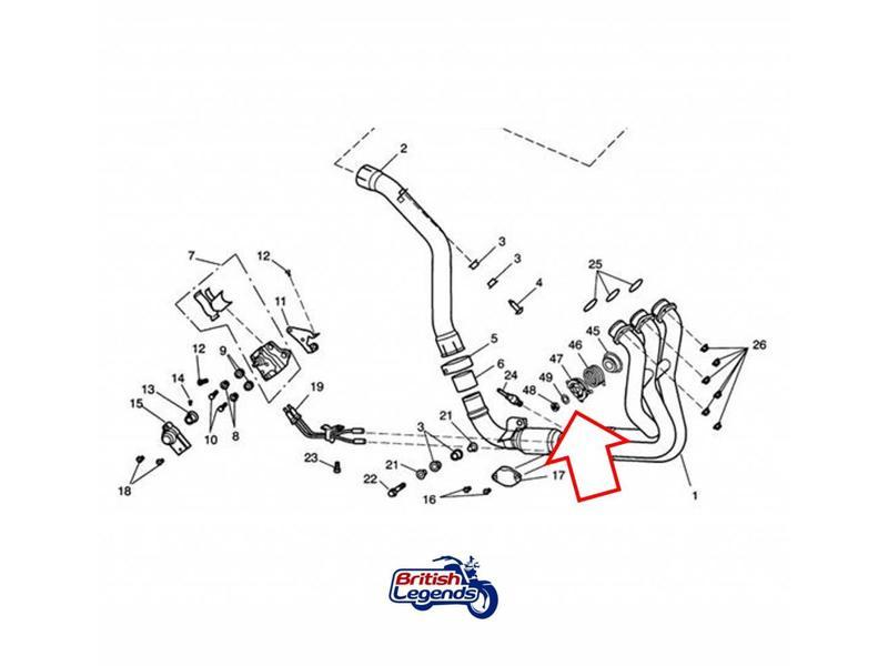 Bypass Valve Échappement pour Daytona 675