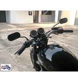 Rétroviseurs Ovales en Aluminium (motos Triumph)