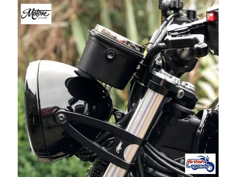 Motone Lay-Flat Instrument Panel for Triumph Twins