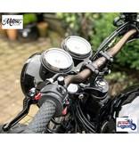 Poignées en Alu Massif pour motos Triumph