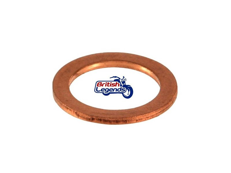 Copper Sump Plug Seal Kawasaki W650/W800