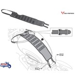 SW-Motech Tank Strap and Accessory Bag Triumph Twins